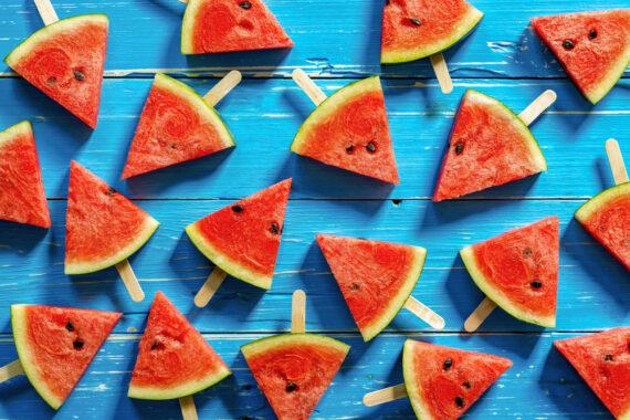 watermeloen-ijsjes