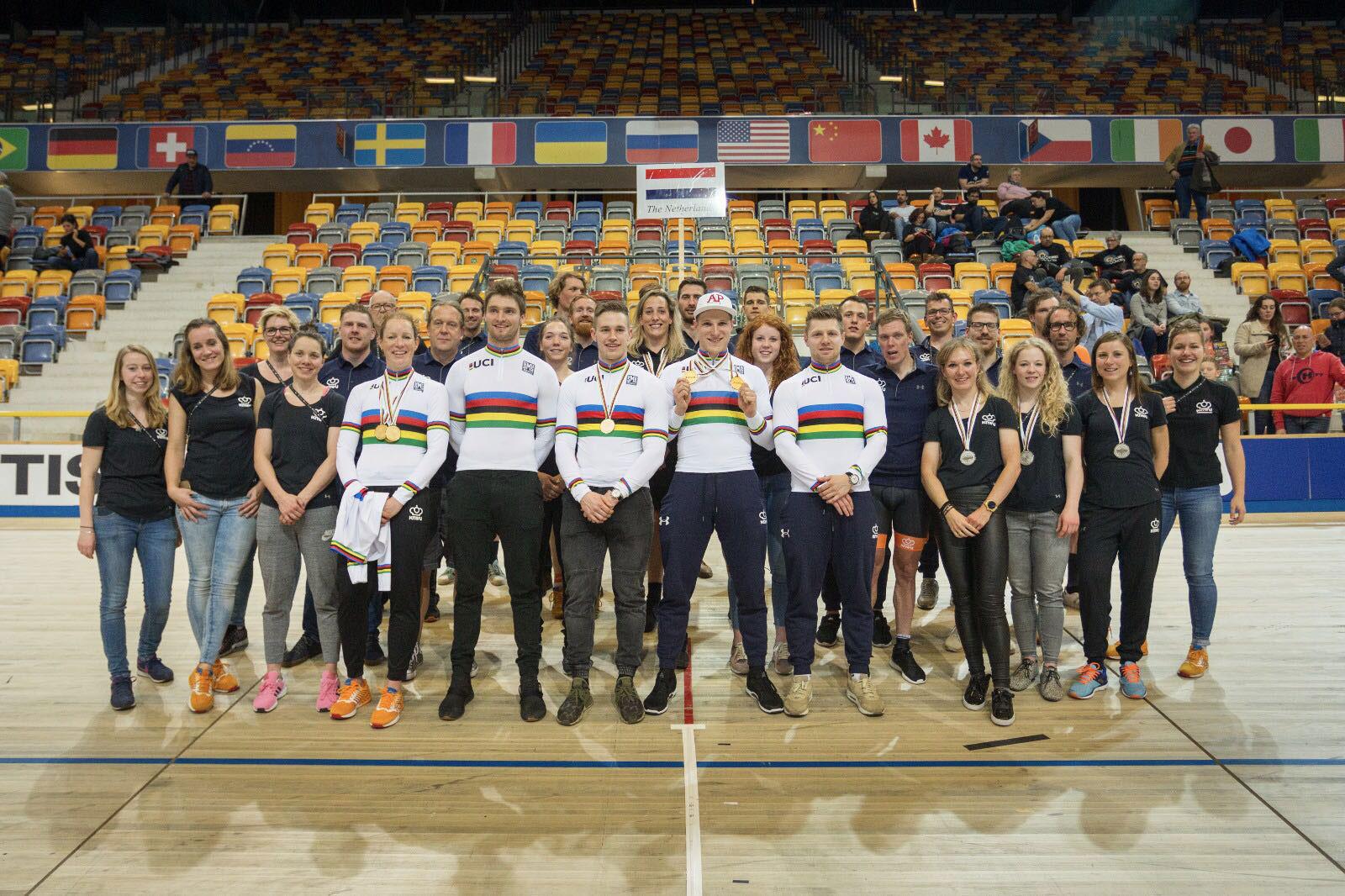 Renners + Crew World Championships 2018 Apeldoorn