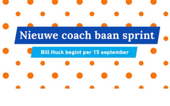 Bill Huck nieuwe bondscoach baansprinters