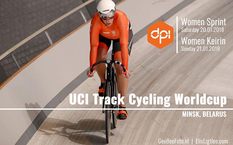 UCI Track Cycling Worldcup 2018 Minsk Belarus, Elis Ligtlee